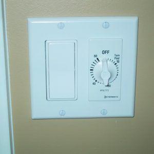 Bath Fan Light Timer Switch