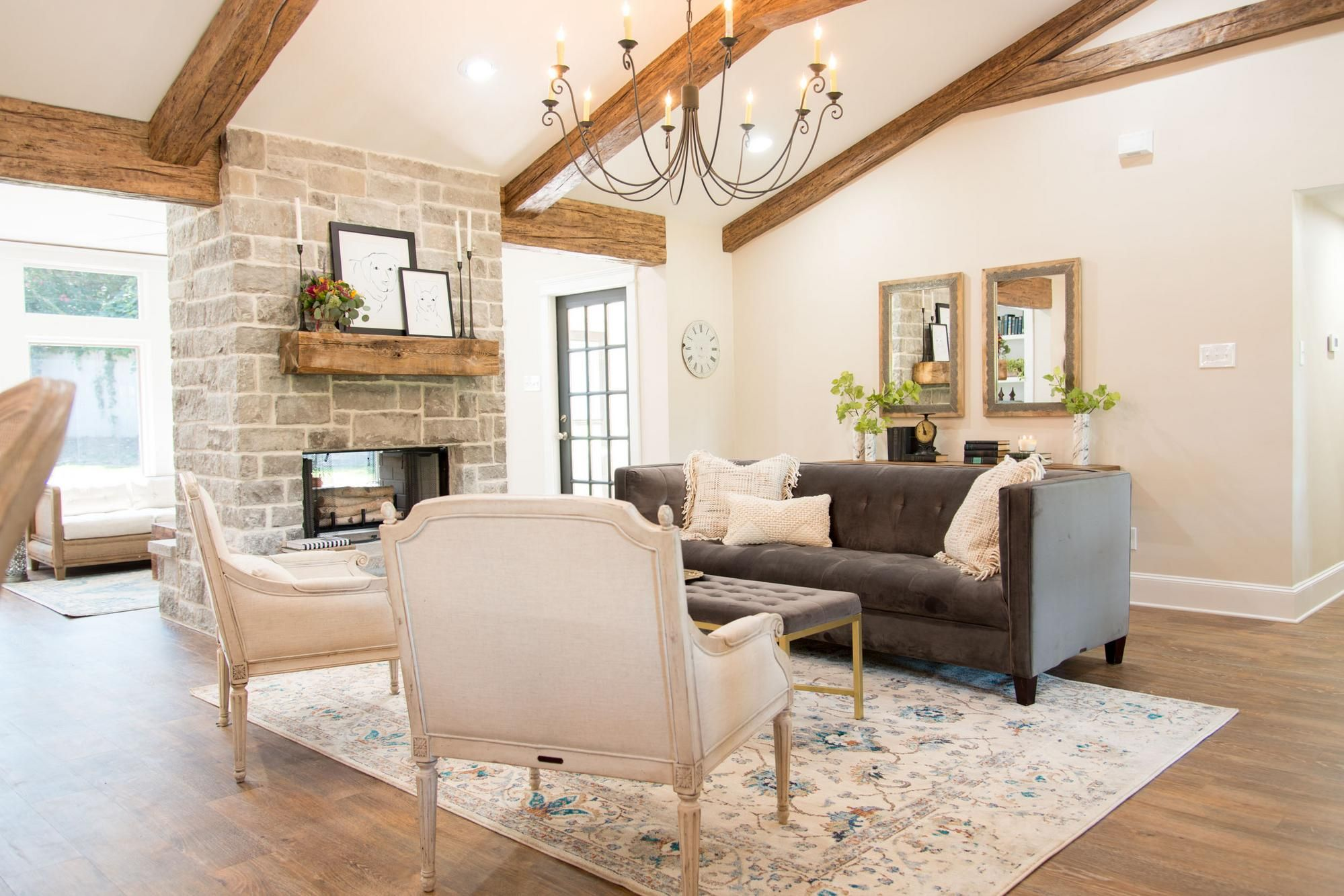 Season 4 Episode 1 Farm House Living Room Home Living Room