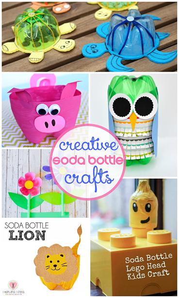 Soda Bottle Craft Ideas For Kids To Make Crafty Morning Soda