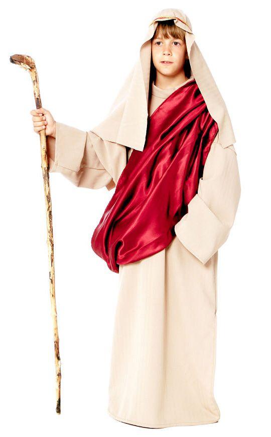 Brand New Biblical Shepherd Moses Religious Bible Adult Men Costume