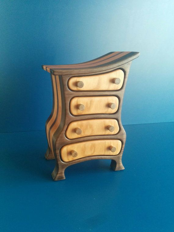 One Of A Kind Jewelry Box Home Decor Work Of Art