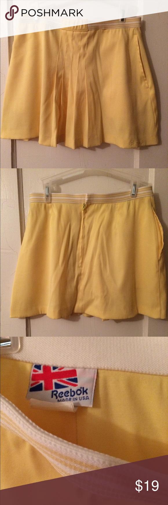 reebok pleated tennis skirt