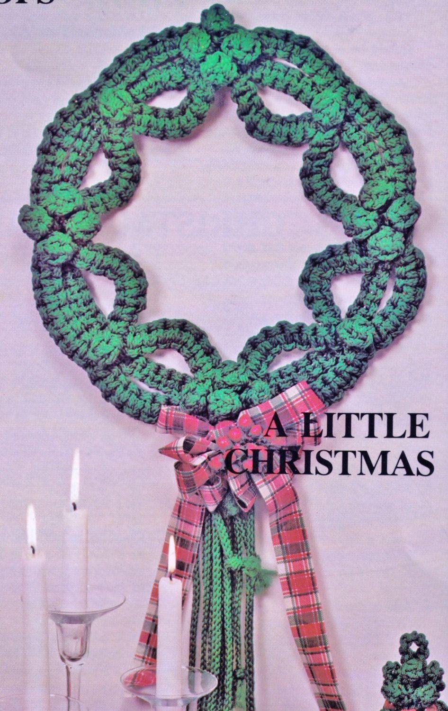 VINtAGE MACRAME CHRISTMAS Wreath STaR RETRo LIFESTyLe HOLIDaY ...