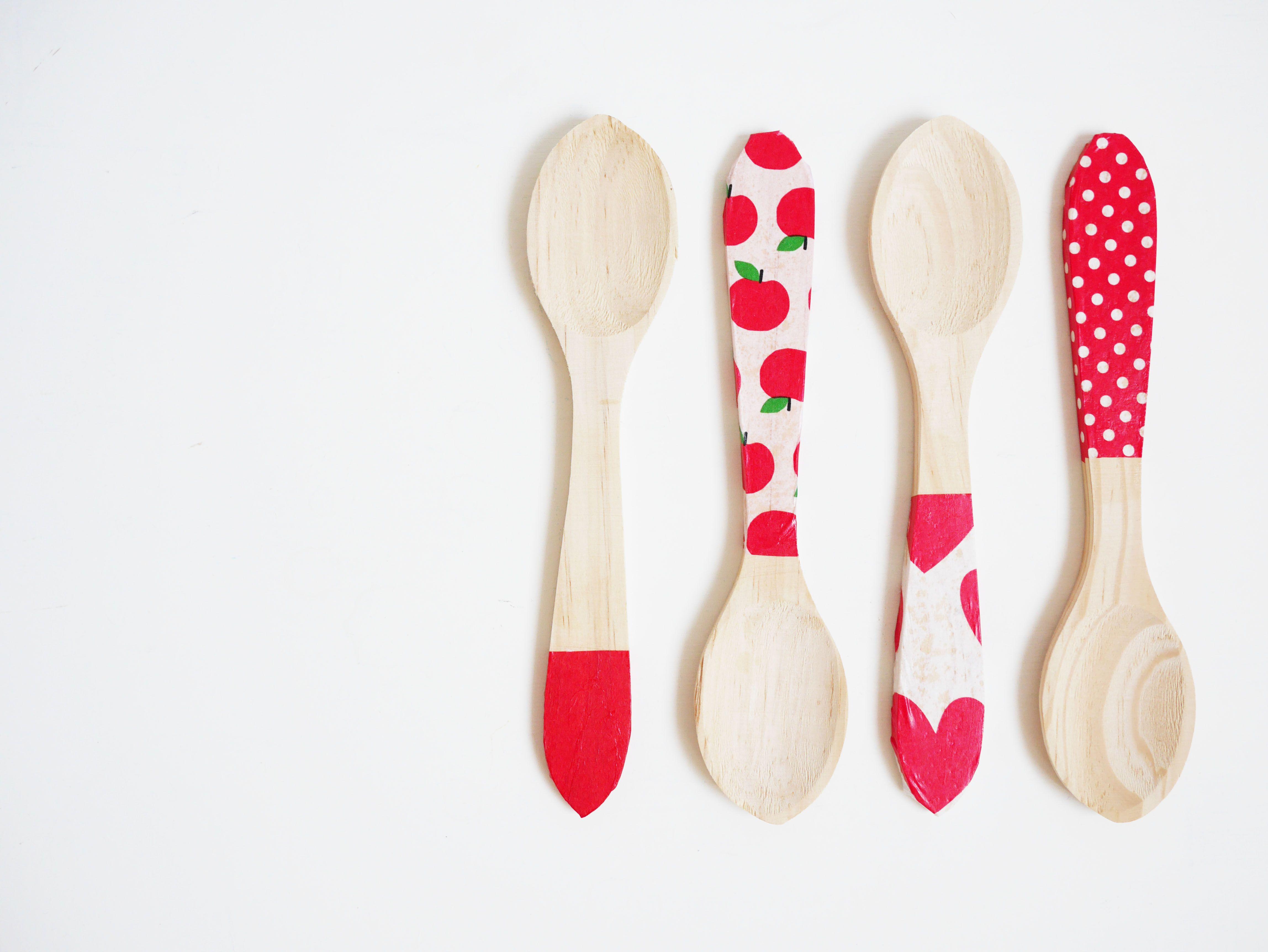 DIY cucharas de madera personalizadas | Apartment inspiration ...