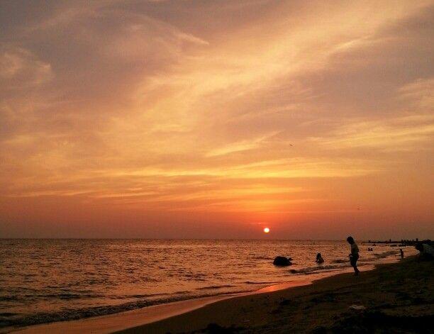 غروب ساحل الشقيق Celestial Sunset Outdoor