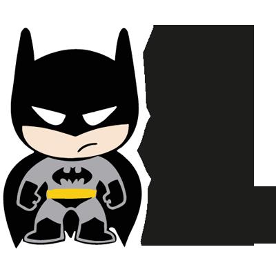 Beb a bordo con divertido batman infantil vinilos for Stickers infantiles