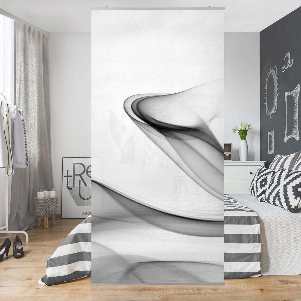 Bilderwelten Raumteiler 250x120cm Grey Flame