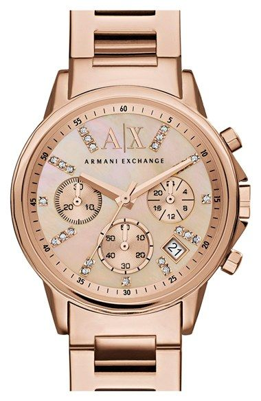 760d0c39e832 love this for everyday!!! AX Armani Exchange Crystal Marker ...