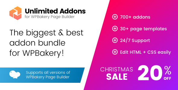 Unlimited Addons for WPBakery Page Builder (Visual Composer