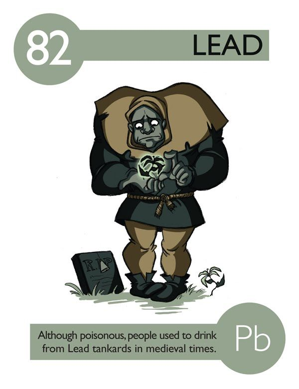 82 lead p e r i o d i c a l pinterest periodic table 82 lead if the periodic table was personified urtaz Images