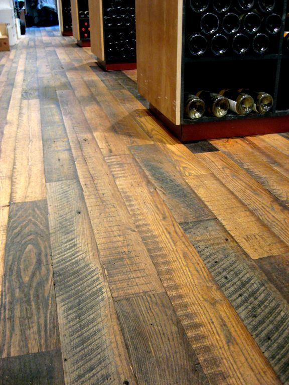 Marvelous A Custom Wine Cellar With Chestnut Flooring   Modern   Wine Cellar   New  York   Pioneer Millworks