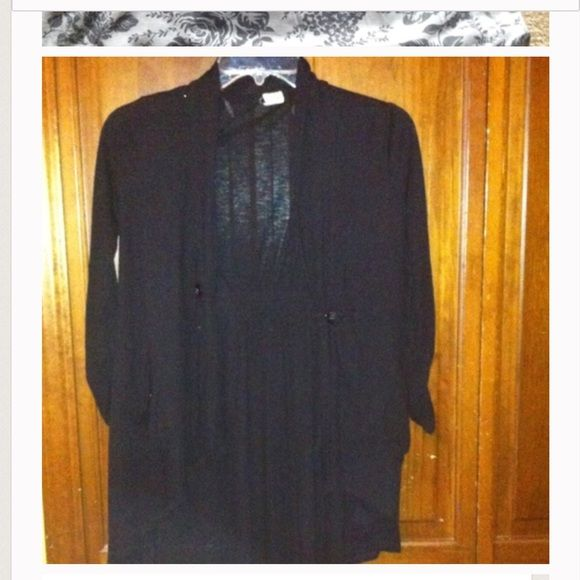 Black sweater. Great for dressing up Brand new. Never worn Sweaters Cardigans
