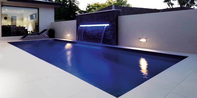 Rectangular Pool Designs rectangular pool with hot tub gallery for rectangle inground pools with hot tubs Rectangular Pool Designs In Ground Backyard Pool And Patio Ideas