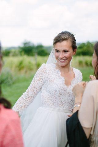 MarieAlix Constance Fournier wedding Coiffure