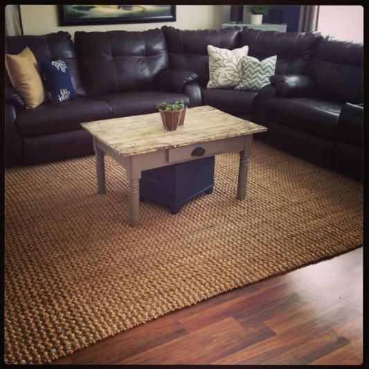 Natural Basket Weave Jute Rug World Market
