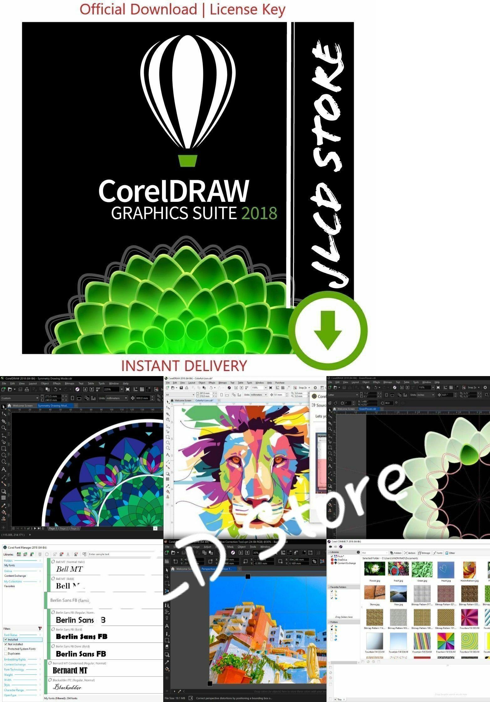 Image Video and Audio 41859: Coreldraw Graphics Suite 2018