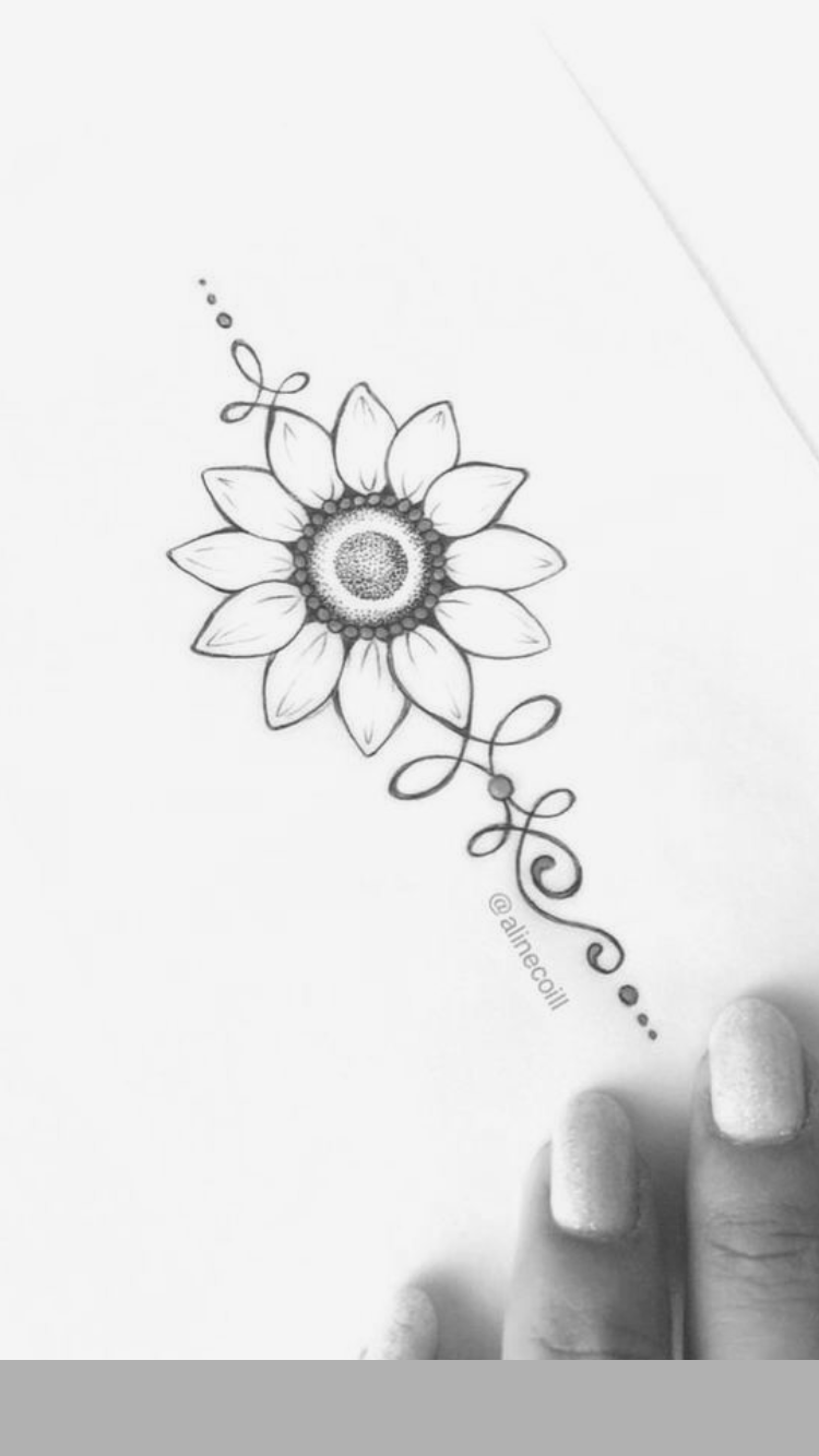 Photo of Sunflower tattoo –  Sunflower tattoo  – #disneytatto #diyapartment #diybaby #diybathroom