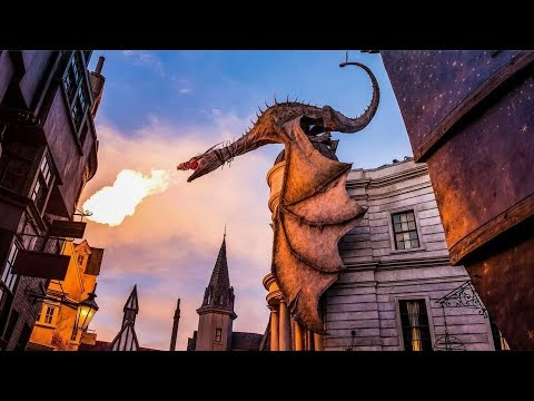 Harry Potter And The Escape From Gringotts Ride Full Experience Universal Orlando Hd Youtube Universal Orlando Orlando Universal Orlando Resort