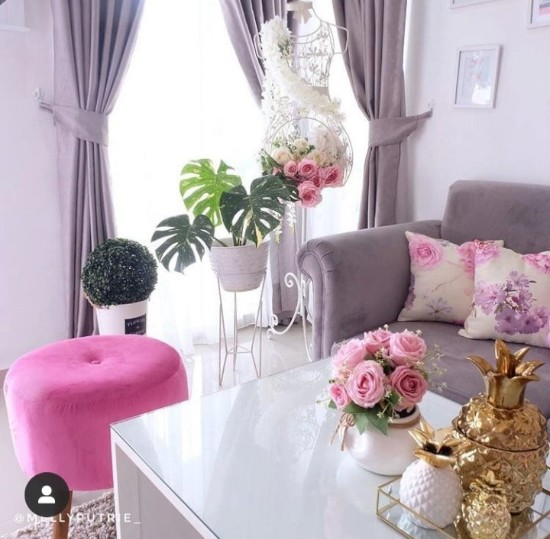 34 ide inspiratif interior ruang tamu minimalis rumah type ...
