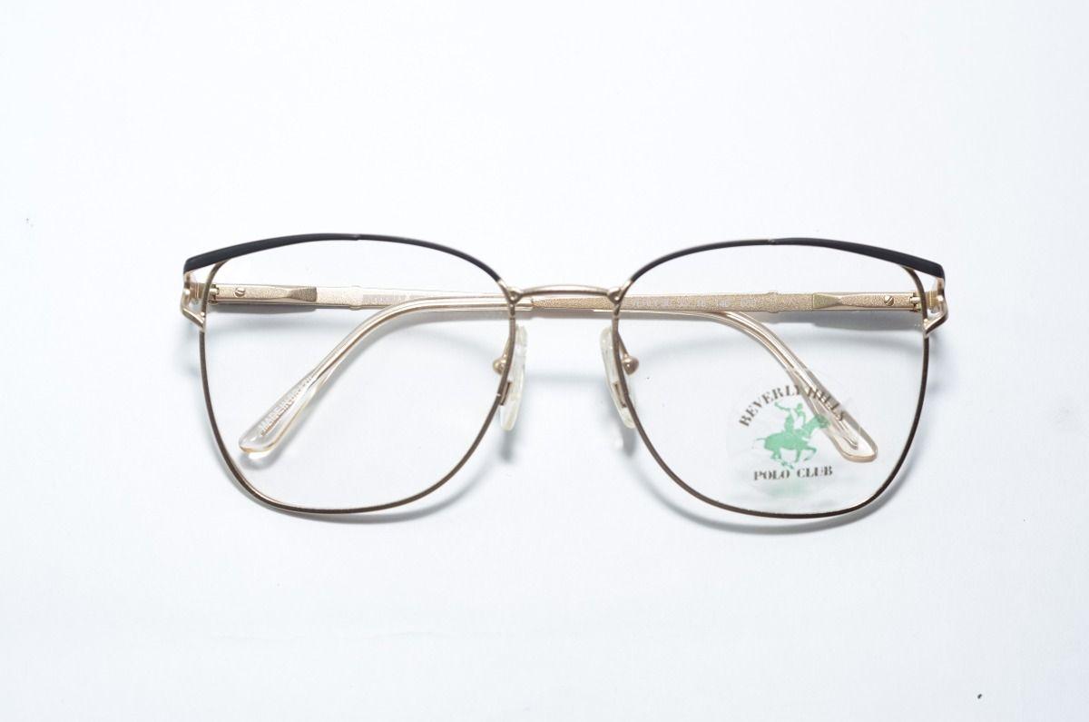 5e57e89e484a5 armações para óculos de grau - retrô - polo club