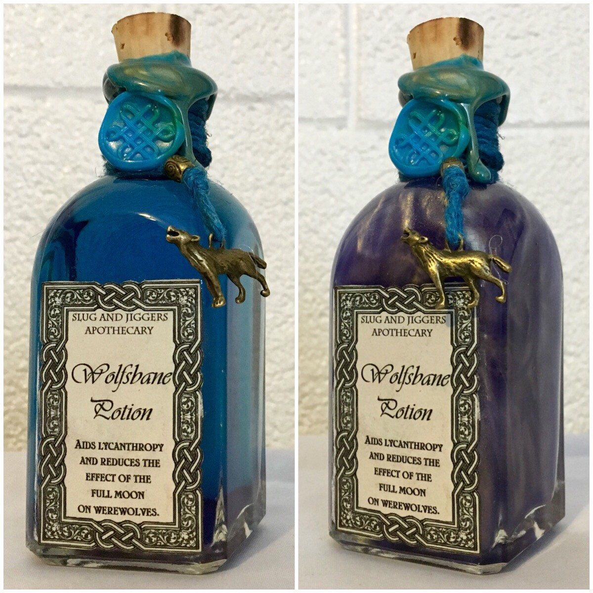 Wolfsbane Potion We Should Choose Several Bottles Potions