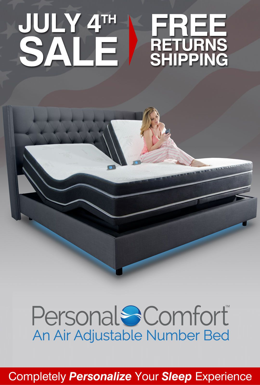 4th Of July Number Bed Sale Save Up To 60 Over Sleep Number Bed