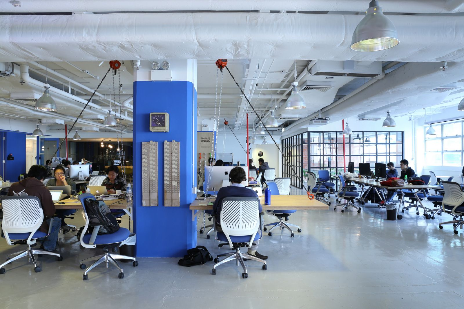 Blueprint hong kong coworking offices office pinterest pdm international has designed a new office space for blueprint a tech focused coworking office located in hong kong as a tech focused co working communi malvernweather Images