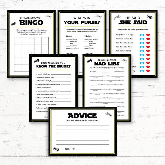 Star Wars Bridal Shower Games Package   6 Games   Digital Printout    Instant Download