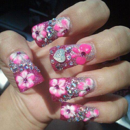 Blue Diamond Ontario Nails