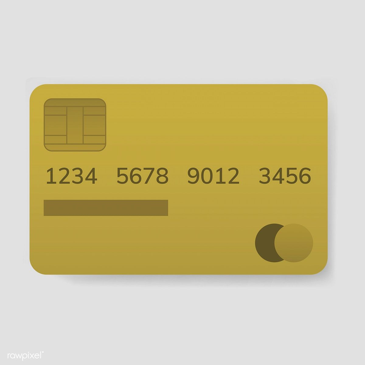 Credit card electronic banking payment vector free image