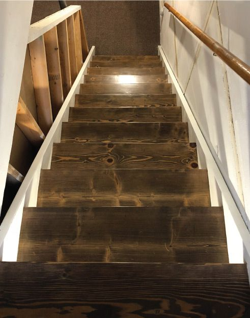 Best Refinishing My Basement Stairway Part 1 Stair Remodel 640 x 480