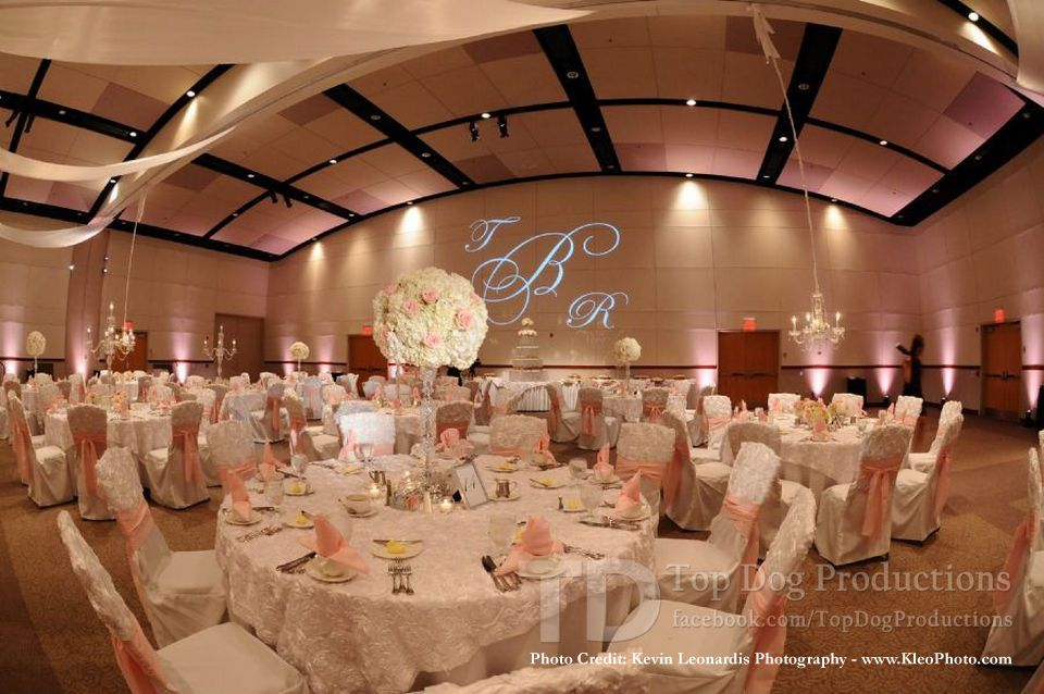 Frank J Pasquerilla Conference Center Downtown Johnstown Pa Lighting Design By Top Dog Productions Floral And De Floral Decor Wedding Table Decorations