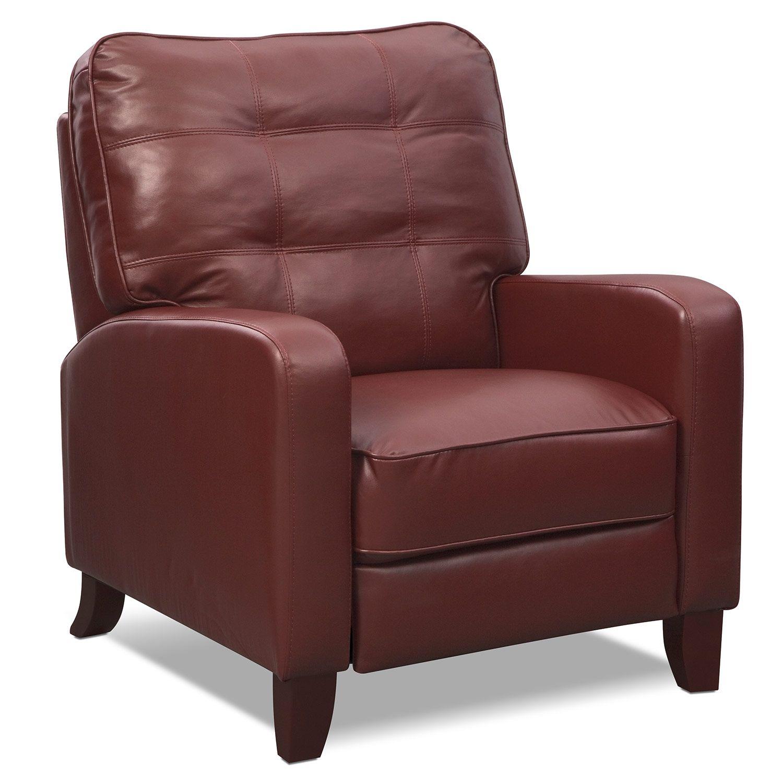 Living room furniture clinton push back recliner