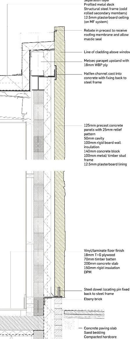 Centrepoint Community Hub By Collective Architecture In 2020 Concrete Cladding Precast Concrete Panels Precast Concrete