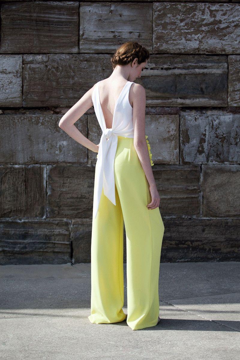 0bf1baede8 comprar online pantalon palazzo de fiesta boda evento coctel bautizo  comunion…