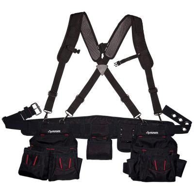 Husky Framer S Suspension Rig Hd00116 The Home Depot Pocket Pouch Tool Belt Pouch Bag