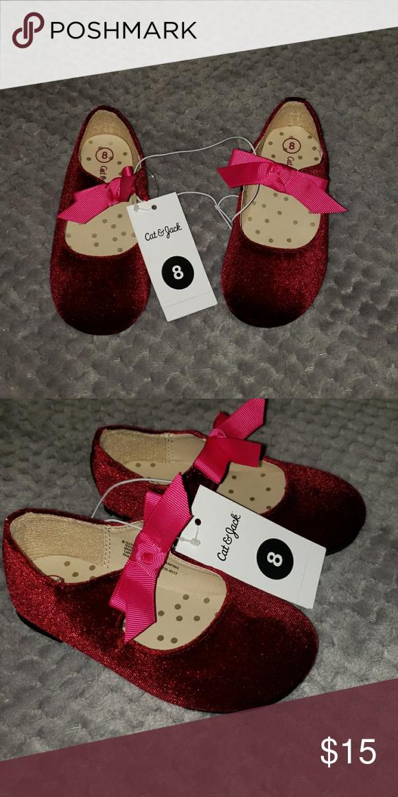 Cat \u0026 Jack red size 8 shoes Cat \u0026 Jack