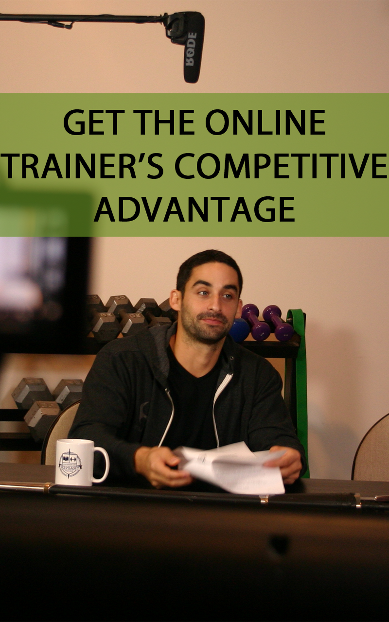 How To Become An Online Personal Trainer Personal Training