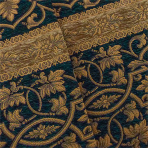 Brown Paisley Chenille Couches