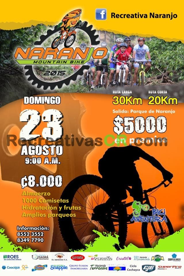 Calendario Mtb 2019 Costa Rica.Calendario Recreativas De Mtb Costa Rica Recreativas