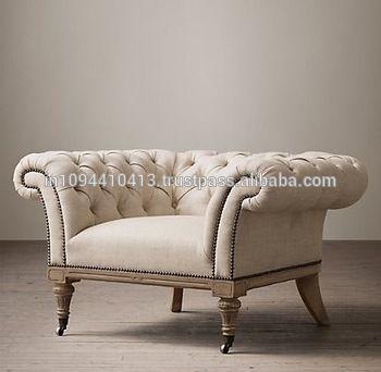 Wooden Living Room Modern Single Sofa - Buy Wooden Living Room ...