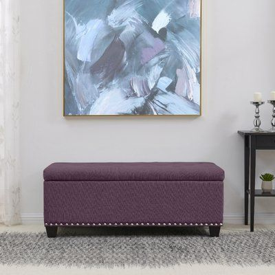 Groovy Winston Porter Pelayo Tufted Storage Ottoman Upholstery Squirreltailoven Fun Painted Chair Ideas Images Squirreltailovenorg