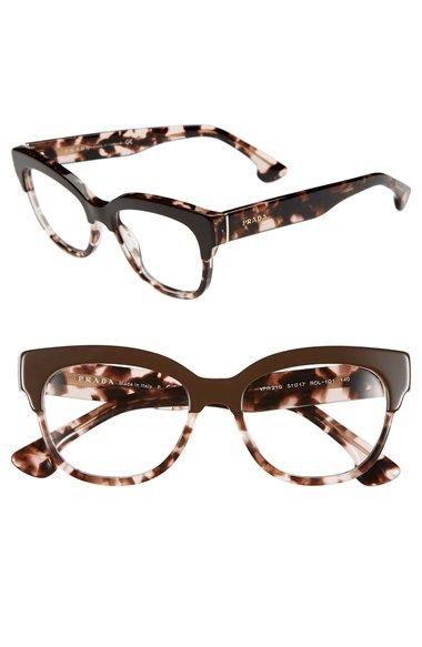 3137b714ea Free shipping and returns on Prada 51mm Optical Glasses (Online Only) at  Nordstrom.com. A retro-chic profile defines polished Italian optical frames  ...