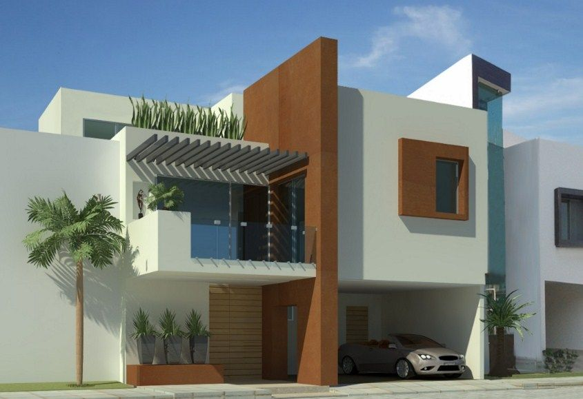Imagenes de fachadas de casas residenciales fachadas for Fachadas duplex minimalistas