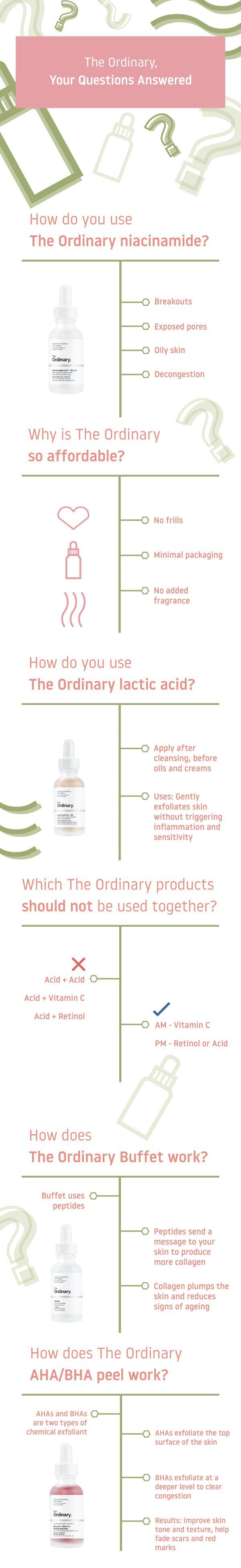 The Ordinary, Your Questions Answered Beauty makeup tips