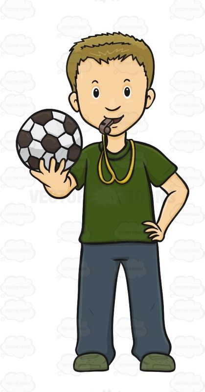 Male Holding A Soccer Ball With A Whistle In His Mouth #action #addict #amusement #athletics #buff #devotee #fan #fanatic #follower #game #games #groupie #hound #male #man #pastime #play #rooter #soccer #soccerball #support #supporter