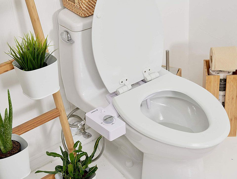 Tushy Toilet Bidet Attachment With Images Bidet Attachment