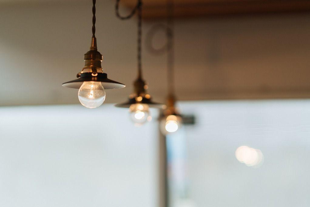 Winwinhome 電球を生かすレトロなミニシェードのペンダントライト