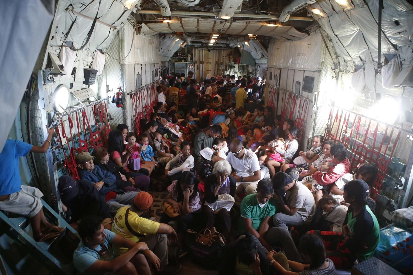 US Military assistance in Philippines The death toll from a powerful typhoon that swept the central Philippines nearly doubled overnight, reaching 4,000, as helicopters from a U.S. aircraft carrier and other naval ships began flying food, water and medical teams to ravaged more