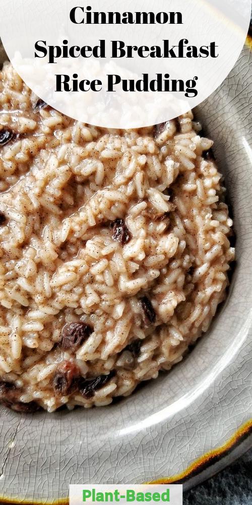 Vegan Cream Of Rice With Cinnamon Brown Sugar Recipe Rice Pudding Rice Breakfast Recipes Breakfast Rice
